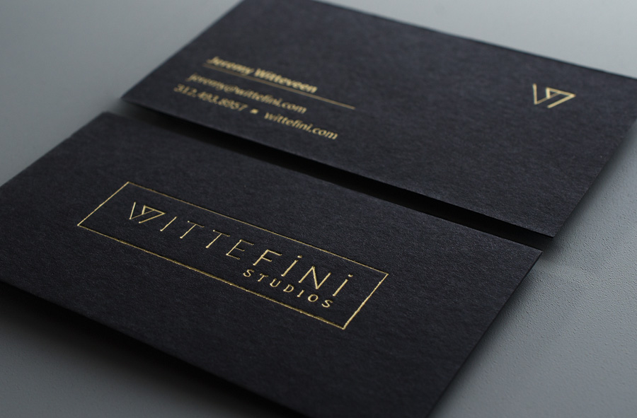 Wittefini business cards